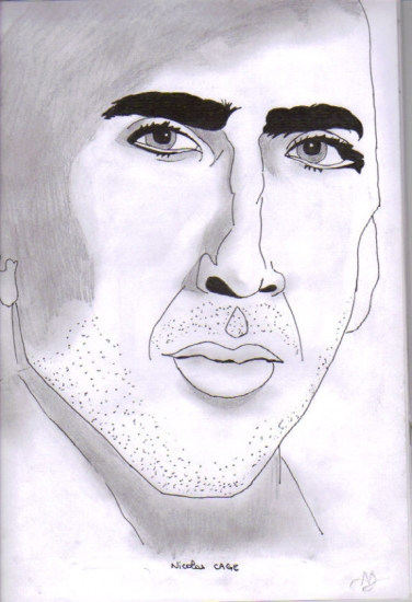 Nicolas Cage by Alex2B